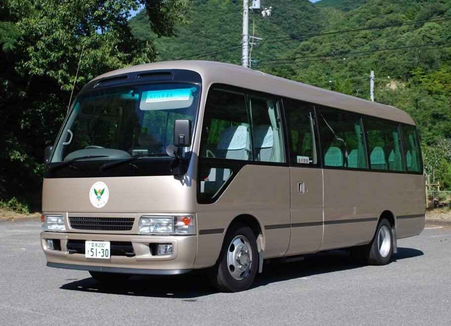 道後温泉からの無料送迎バス