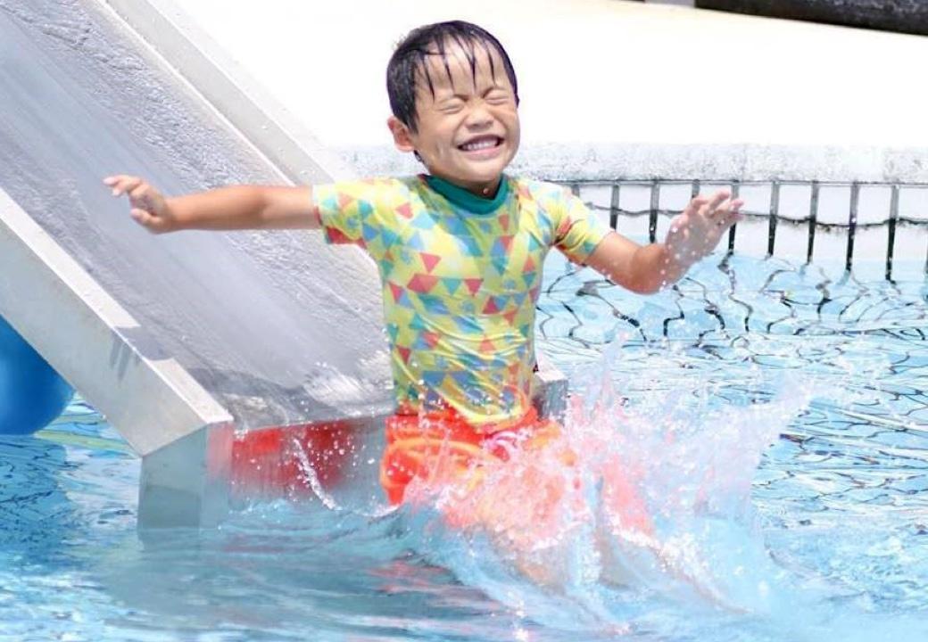 冷泉プール